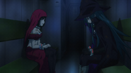 Strike The Blood S1 episode 15 Octavia and Emma arrested