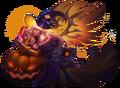 Lauriel Halloween Scream CutOut.png
