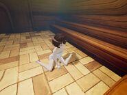 Brave Witches VR PS4 sauna screenshot 3