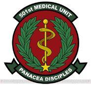 Strike Witches 2 Iyasu, Naosu, Puni-Puni suru medical unit badge