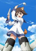 Strike Witches 501 Butai Hasshin Shimasu! anime 4