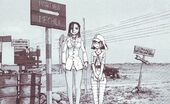 Mathilda & Furuko 1943 photo