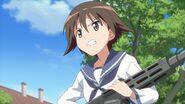 Yoshika with Type-99-2-2 Strike Witches Movie