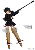 Luciana Art Works of Strike Witches
