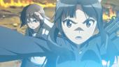 Shizuka saving Yoshika