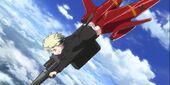 Erica Jet Striker autocannon OVA1