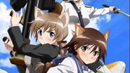 Strike Witches Sliver Wings Xbox 360 OP