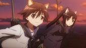 Yoshika and Shizuka flying home