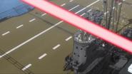 Akagi Bridge Hit by Neuroi beam