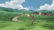 Liberion and Karlsland infantry in the open
