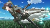 Gertrud flight fully loaded Strike Witches Movie (1)