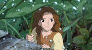 Arrietty under rain