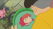 Ponyo- in Green Bucket