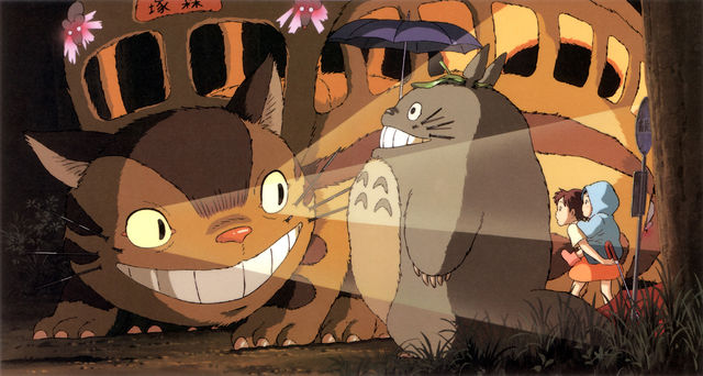 Catbus from the Japanese movie Spirited Away.