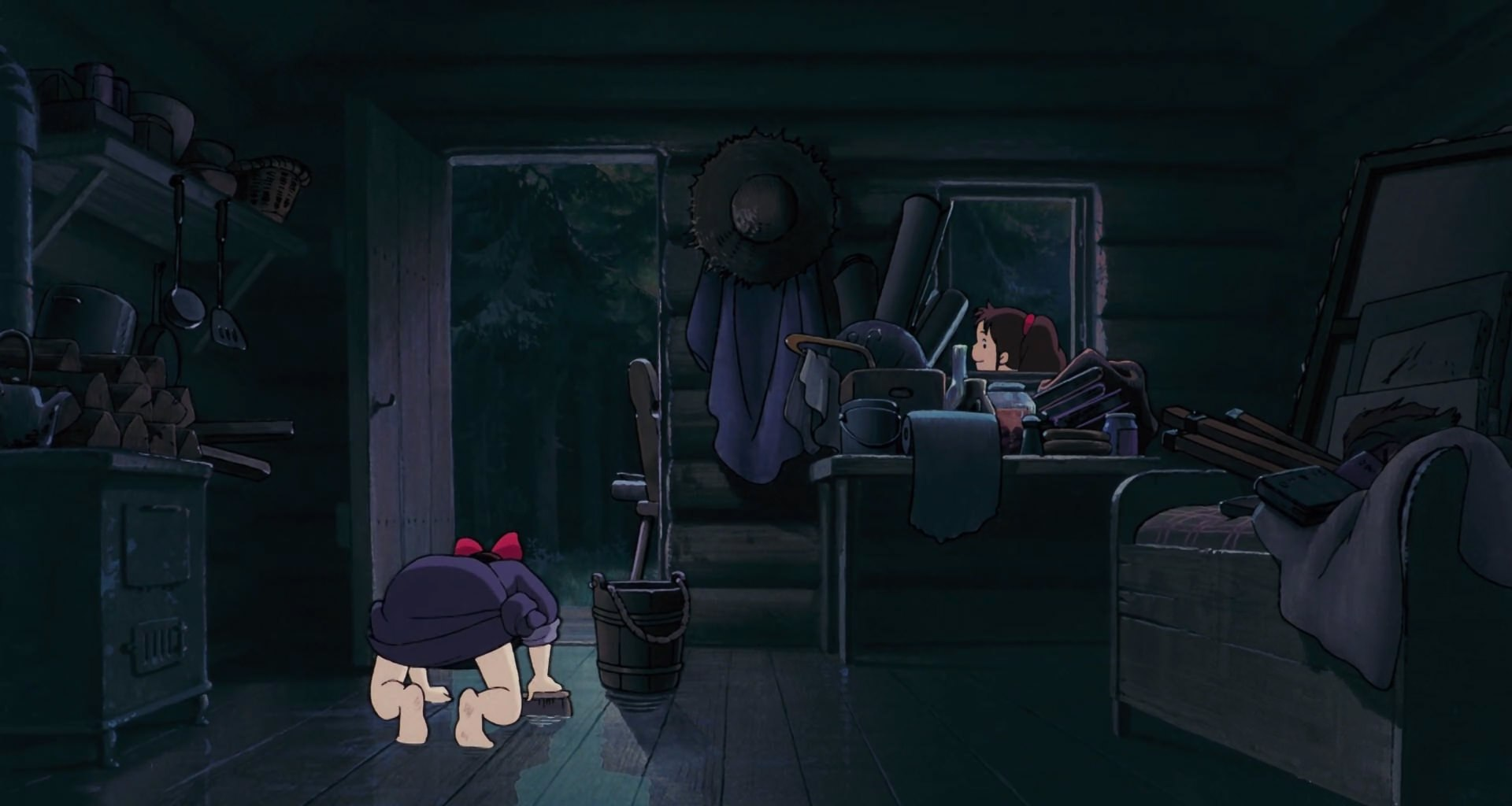 Ursula's Log Cabin