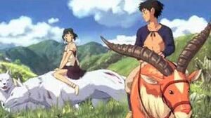 Princess Mononoke - Ashitaka and San