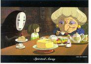 Spirited Away MEMORIAL BOX Postcard 3