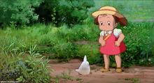 Tonari no Totoro - Sosuke and mini Totoro.png