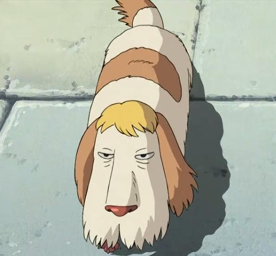 Heen hand puppet //Howl/'s moving castle  Studio Ghibli