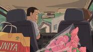 Akichiro drives