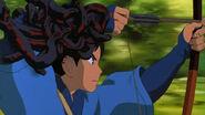 Princess Mononoke - Ashitaka shoots arrow