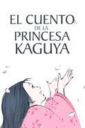 El cuento de la princesa Kaguya póster español