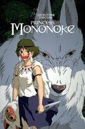 La princesa Mononoke póster inglés
