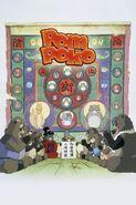 Pompoko póster inglés