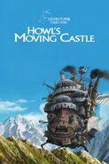 El castillo ambulante póster inglés
