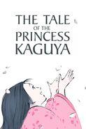 El cuento de la princesa Kaguya póster inglés