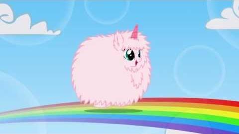 Fluffle Puff Tales Pink.Fluffy.Unicorns.Dancing.On
