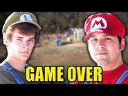 Stupid Mario Bros - End Credits Music Video (Game Over - Mercedes Avenue)