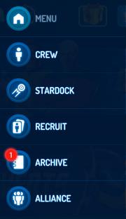 Top 3-bar-Icon dropdown