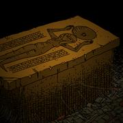 Elizabeth tomb detail
