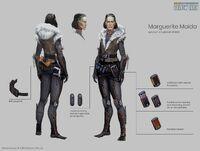 Marguerit concept sheet