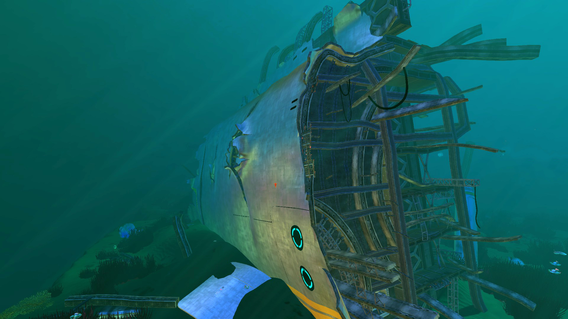 Затонувшие части Авроры