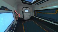 Seatruck Sleeper Module Interior