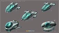 Seamoth unused design