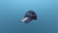 Blue Cap In-game