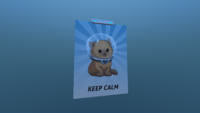 Keep Calm In-game