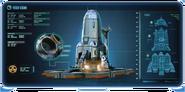 TechScan Platformy startowej Neptuna wraz z rakietą