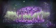 Биом Кристальные пещеры