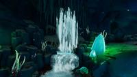 GBtemperatecave waterfall