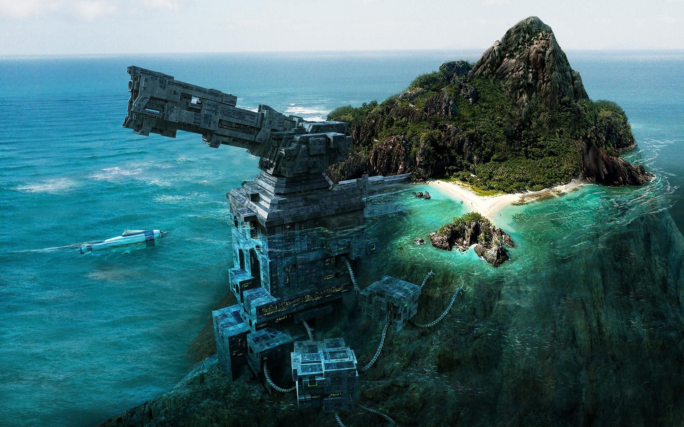 Горный остров
