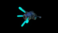 Propulsion Cannon Front In-game