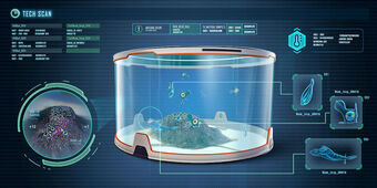 Alien Containment Subnautica Wiki Fandom It is constructed with the habitat builder, and allows the player to generate a 3d map of the surrounding biome, scan for resources, and conduct scouting via controllable camera drones. alien containment subnautica wiki