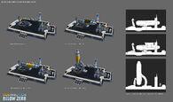 Exchanger rocket concept