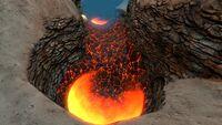 Lava Geyser Jelly Shroom Caves