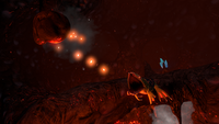 Lava Lizard Rock Spit Attack