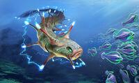 Shock Eel Concept Art